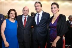 Lia e Carlos Jereissati, Camilo Santana e Onélia Leite