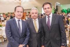 Lisandro Fujita, Nilo Tabosa e Fernando Novais