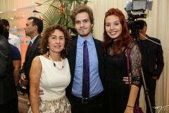 Luiza Serpa, João Lúcio e Yohanna Coutinho
