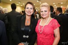 Ana Luiza e Excelsa Costa Lima