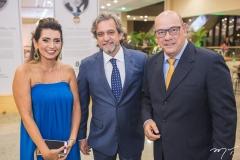 Márcia Travessoni, Ernesto Sabóia e Fernando Travessoni