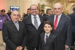 Marcos Gurgel, Marcondes Ferraz, Luiz Eduardo e José Benevides