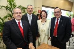 Meton Vasconcelos, Expedito e Zilma Borges e Ary Cidó