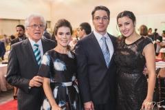 Napoleão, Ana Amélia, Mauro e Mônica Maia