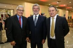 Paulo César Norões, Arnon Bezerra e Euvaldo Bringel