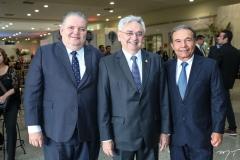 Pedro Jorge Medeiros, Paulo Albuquerque e Cláudio Aguiar