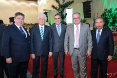 Raul Araújo, Napoleão Maia, Hélio Parente, Chiquinho Feitosa e Cláudio Aguiar