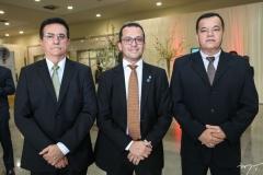 Ricardo Macedo, André Costa e Ronaldo Viana