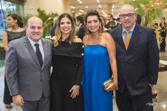 Roberto Cláudio, Carol Bezerra, Márcia Travessoni e Fernando Travessoni