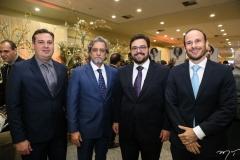 Samuel Dias, Ernesto Sabóia, Alcimor Rocha e André Parente