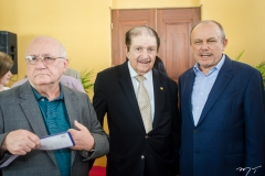 Aluísio Ramalho, Mauro Benevides e Honório Pinheiro