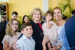 Beatriz, Marcos Queiroz, Stella, Luiza Rolim e Ticiana Rolim Queiroz