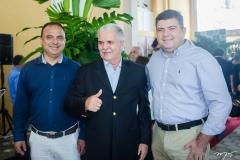 Laercio Lucena, Pio Rodrigues e Emilio Recamonde
