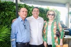 Luiz Câncio, Alípio Rodrigues e Lúcia Brandão
