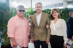 Luiz Goiana, Carlos Benevides e Monica Goiana
