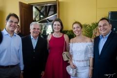Marcelo Pinheiro, Pio Rodrigues, Manuela Nogueira, Ticiana Rolim Queiroz e Moacir Maia