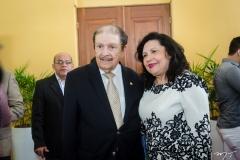 Mauro Benevides e Nailde Nogueira