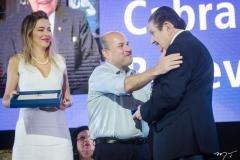 Onélia Santana, Roberto Claudio e Mauro Benevides