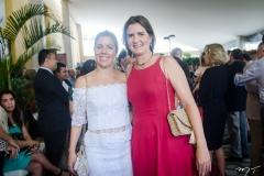 Ticiana Rolim Queiroz e Manuela Nogueira