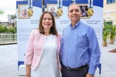 Ana Flávia Sales e Luis Alcantara