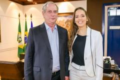 Ciro Gomes e Giselle Bezerra