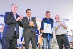 Ciro Gomes, Ezio Feitosa, Fagner e Roberto Cláudio