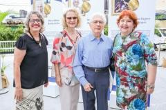 Delania Lobo, Aida Montenegro, José Liberal de Castro e Eveline Vasconcelos