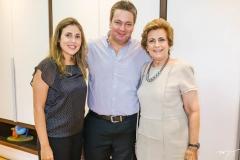Eloisa, Aragão Neto e Regina Aragão