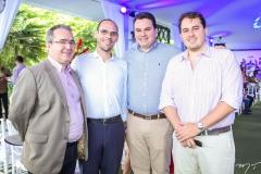 Emanuel Fontenele, Amilton Quixadá, Regis Tavares e Paulo Gomes