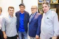 Erick Vasconcelos, Fagner, Fernando Ximenes e Totonho Laprovitera