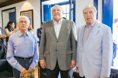 José Liberal de Castro, Luís Marques e Lúcio Alcantara