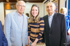Lucio Alcantara, Águeda Muniz e Vicente Fialho