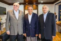 Luis Marques, Antonio Cambraia e Vicente Fialho
