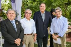 Odmar Lima, Arnaldo Santos, Luis Fiúza e Augusto Bezerra