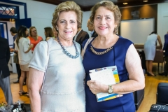 Regina Aragão e Miriam Fialho