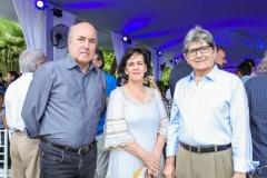 Silvio Frota, Neuma Figueiredo e Augusto Bezerra