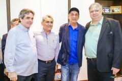 Totonio Laprovitera, Helder Montenegro, Fagner e Moroni Torgan