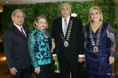 Américo e Arinete Timbó, Epitácio Vasconcelos e Priscila Cavalcante