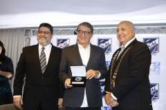 Colombo Cialdini, Arialdo Pinho e Epitácio Vasconcelos