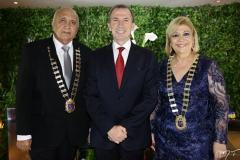 Epitácio Vasconcelos, Philippe Godefroit e Priscila Cavalcante