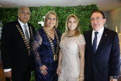 Epitácio Vasconcelos, Priscila Cavalcante, Morgana e Emanuel Linhares
