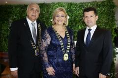 Epitácio Vasconcelos, Priscila Cavalcante e Erick Vasconcelos