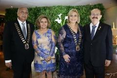 Epitácio Vasconcelos, Margarida Lemos, Priscila Cavalcante e Romeu Prado