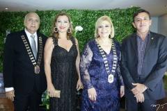 Epitácio Vasconcelos, Rozana Lima, Priscila Cavalcante e Rômulo Veras