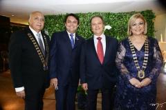 Epitácio Vasconcelos, Tarcísio Porto, José Carlos Pontes e Priscila Cavalcante