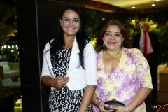 Franklina Duarte e Edna Ramos