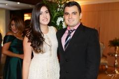 Gabriela Frutuoso e Taízio Marques