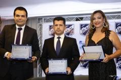 Hermano Bezerra, Erick Vasconcelos e Rozana Lima