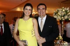Luciana Duarte e Cláudio Ary