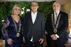 Priscila Cavalcante, Arialdo Pinho e Epitácio Vasconcelos